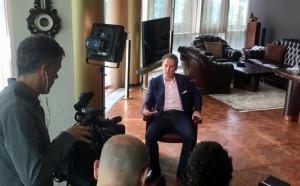 Испанци взеха интервю от Домусчиев, впечатлени са от Лудогорец