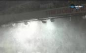 Снежната виелица покоси и Олд Трафорд