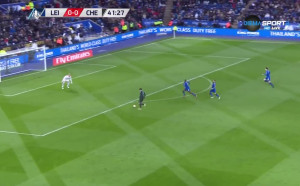 Лестър - Челси 0:1 /първо полувреме/