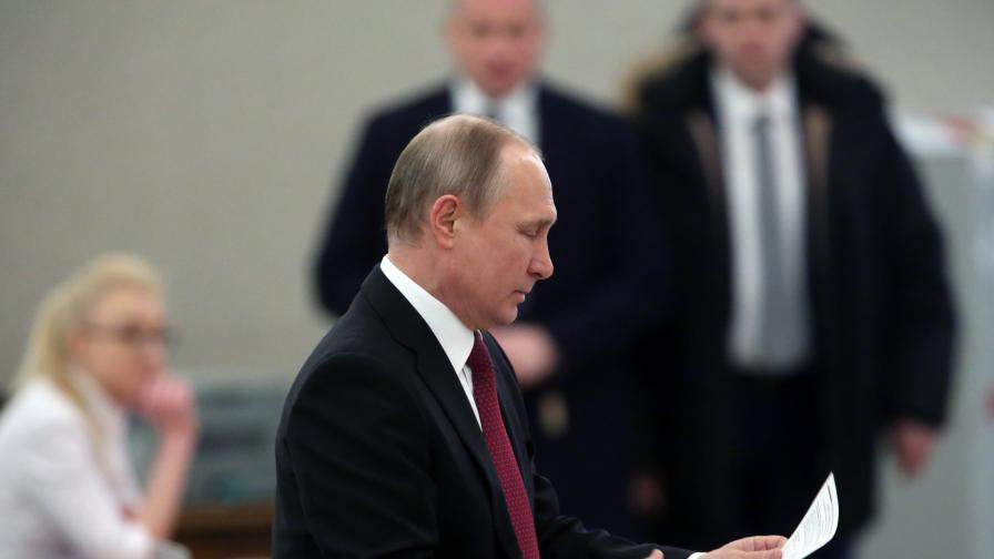 Очаквано: Путин спечели изборите - вижте с колко
