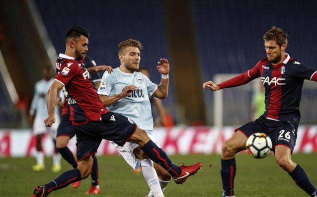 Отборът на Лацио направи 1:1 при домакинството си на Болоня