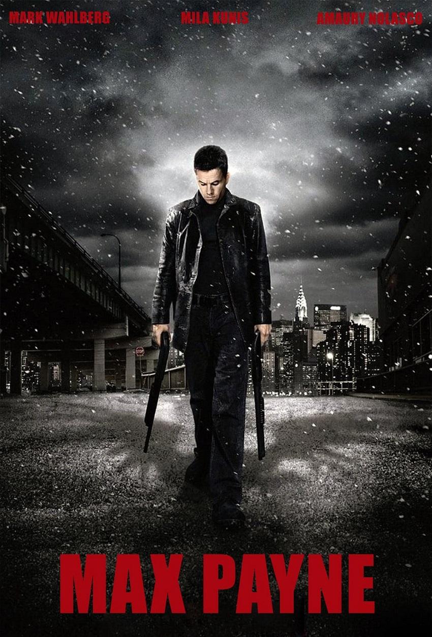 """Max Payne – Марк Уолбърг се записа в историята като най-печелившия актьор на планетата за миналата 2017 година, но през 2008-а имаше злата участ да изиграе главната роля в този смехотворно мелодраматичен екшън заедно с Мила Кунис. Впоследствие двамата играха заедно в хитовата комедия """"Приятелю, Тед""""."""
