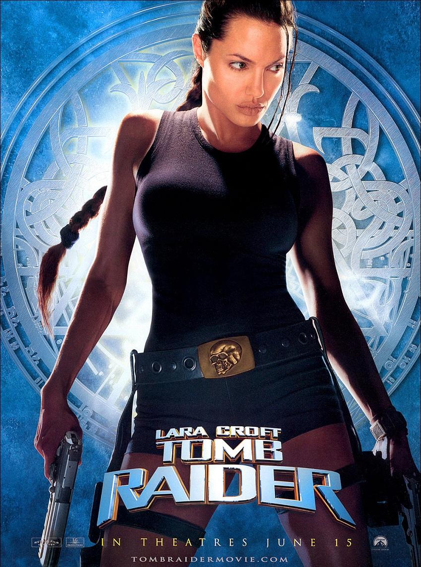 Lara Croft: Tomb Raider – Анджелина Джоли достигна пика на славата си като световен секссимвол с превъплъщенията си в ролята на Лара Крофт в предишните две адаптации по поредицата от видеоигри Tomb Raider. За съжаление, лентите не предлагат нищо повече от ослепителната Джоли в оскъдни или прилепнали костюми и им липсват елементи като логичен сюжет и адекватни човешки диалози.