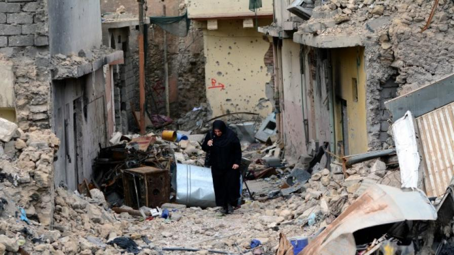 """Освободеният през декември 2017 г. от """"Ислямска държава"""" Мосул днес"""