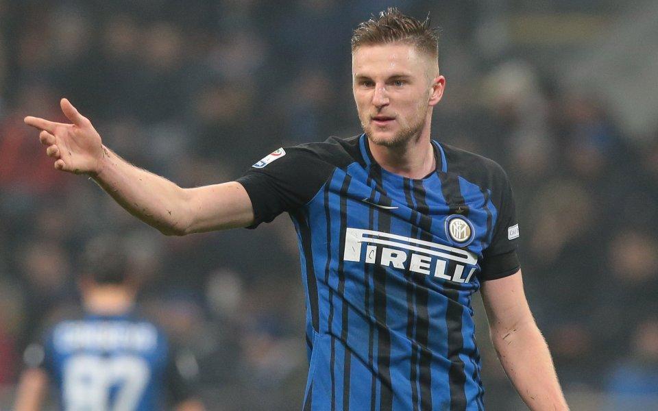 Футболистът на Интер Милан Шкринар е обект на интерес от