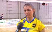 Нася Димитрова: Дано вдигнем титлата още в София