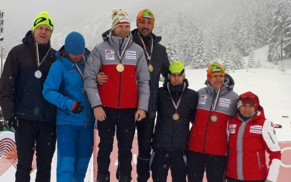 Цинзов и Чучуганов с титлата в отборния спринт