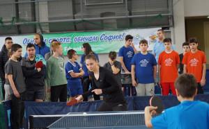 Над 500 деца на турнира по тенис на маса в Арена Армеец