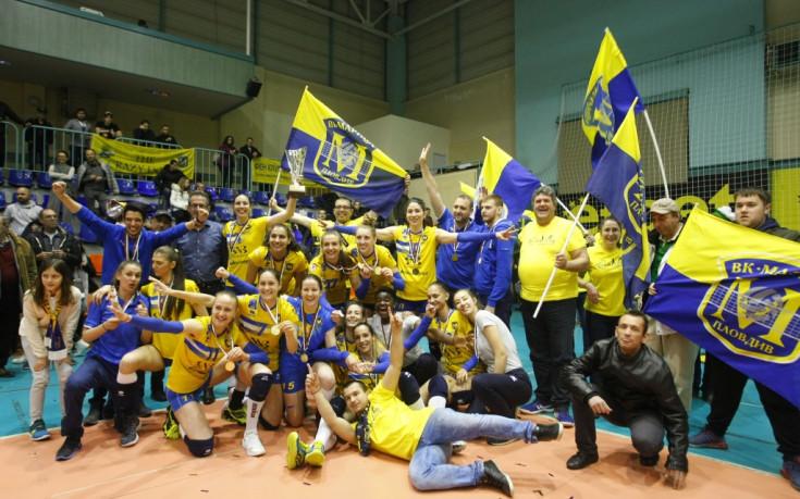 Марица отново на българския волейболен връх, за четвърти пореден път