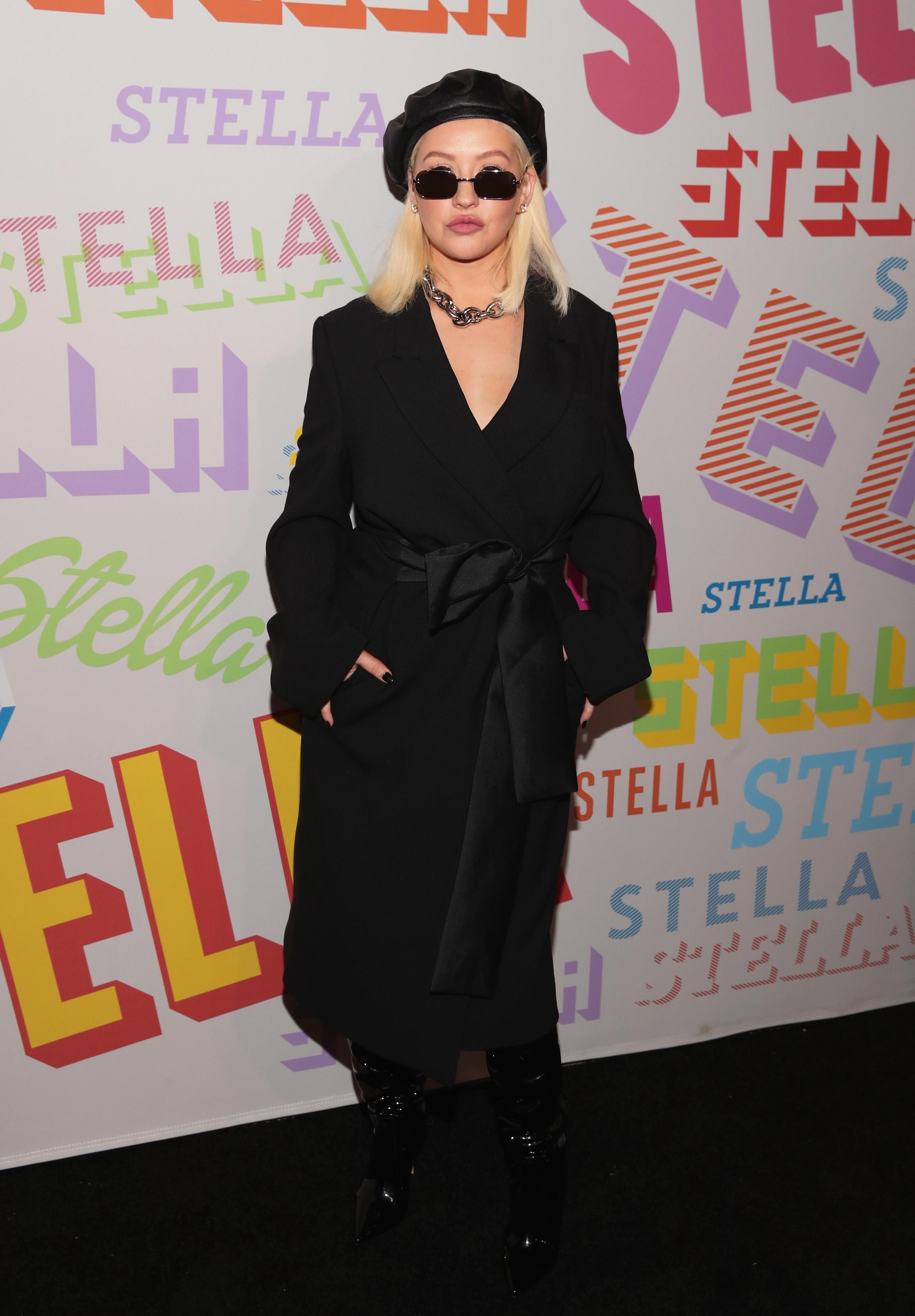 Кристина Агилера през 2018