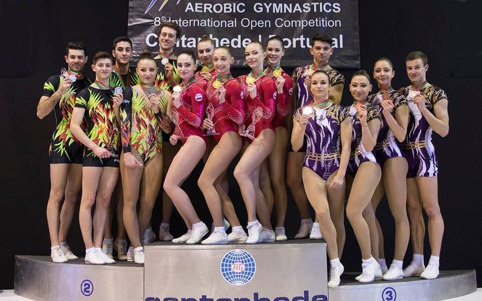 България с два медала от СК по спортна аеробика