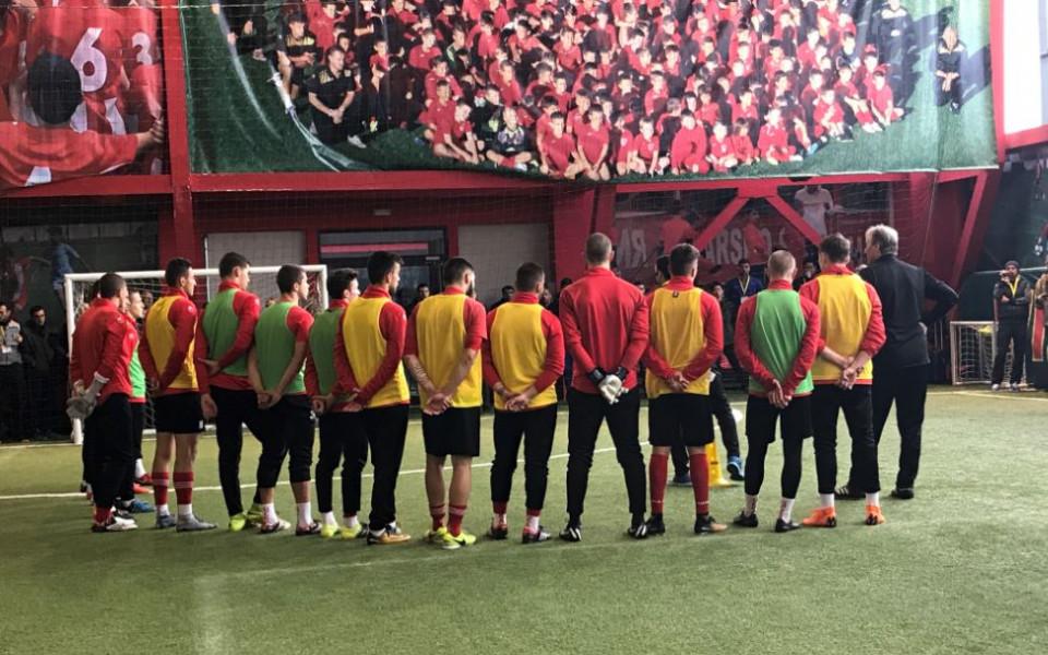 Юношите на ЦСКА впечатлили германски специалисти