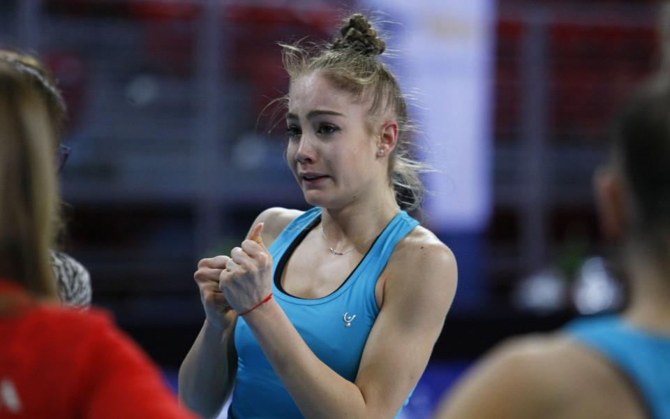 Световната и европейска шампионка от ансамбъла по художествена гимнастика Ели