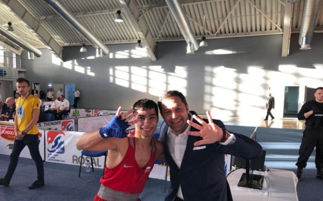 Даниел Асенов и Красимир Инински<strong> източник: БФБокс</strong>