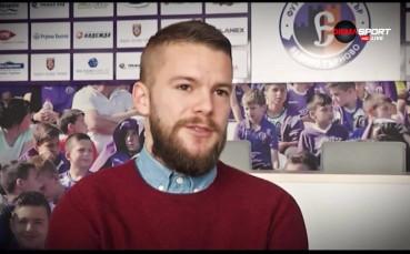 Велко Батрович е Играч на мача Етър - Септември