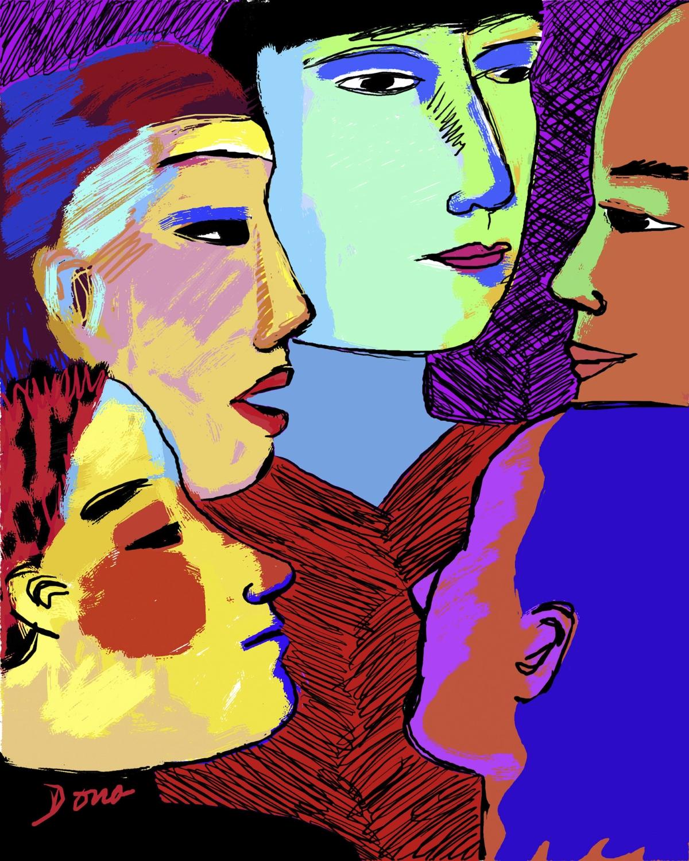 Когато се бозите с колеги/приятели/познати, е абсолютно задължително да говорите силно, така че да ви чуват всички.