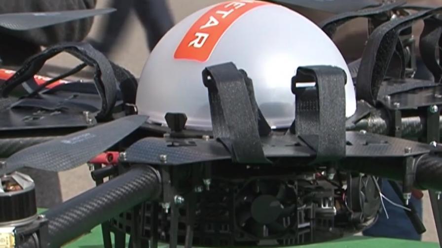 Зрелищен провал на първата пратка с дрон в Русия