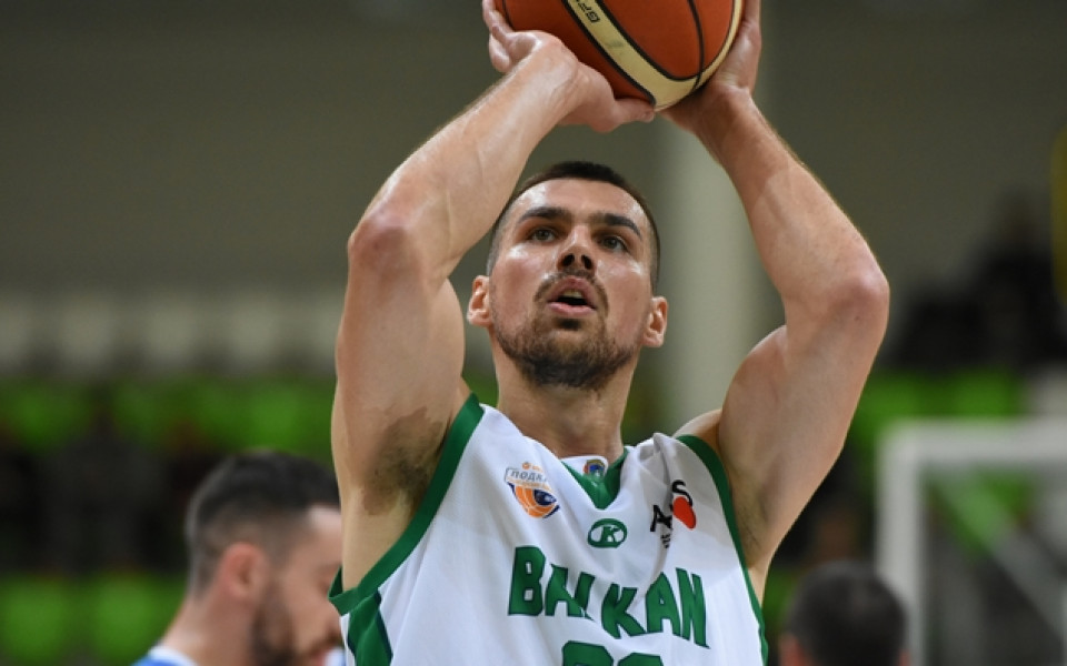 Христо Захариев пропуска трети мач за Балкан