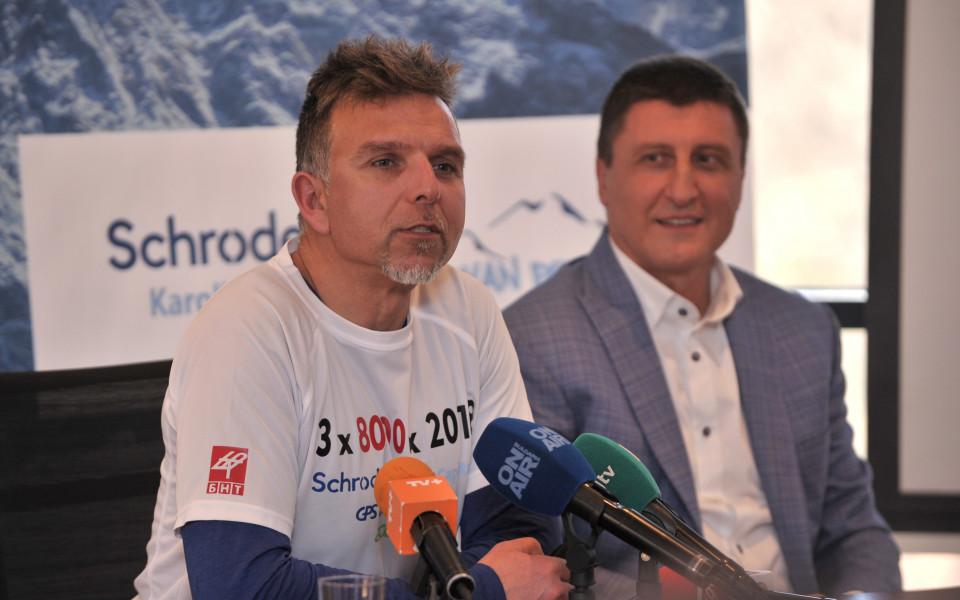 Алпинистът Боян Петров поема към Еверест