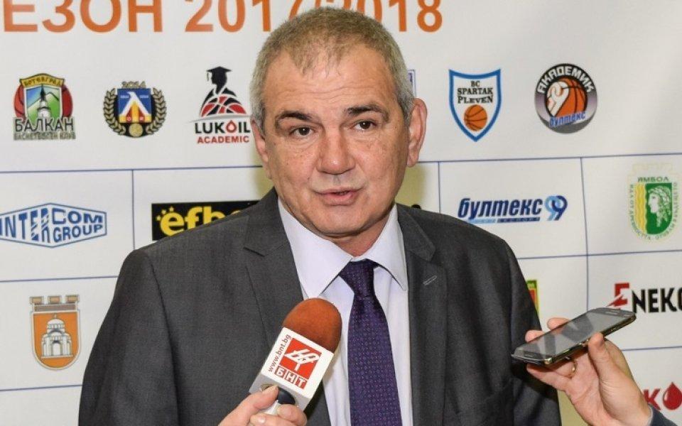 Иван Чолаков бе избран за председател на Треньорската комисия