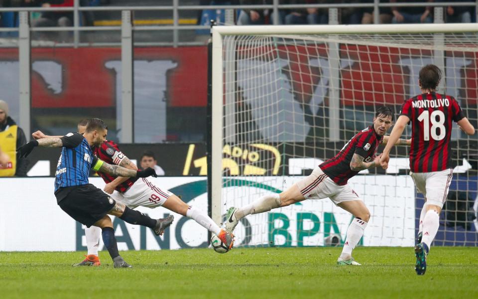 В здраво дерби Милан и Интер си поделиха по точка