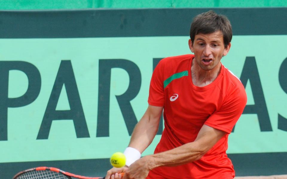 65206a7699b Лазов даде блестящ старт на България срещу Исландия - Тенис - Мъже ...