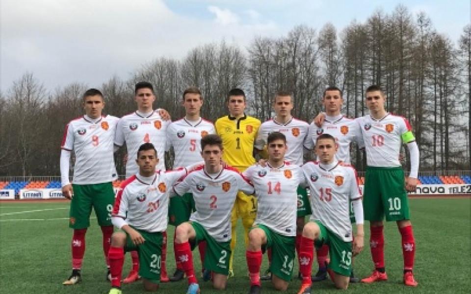 България U16 спечели втория си двубой на турнира в Литва