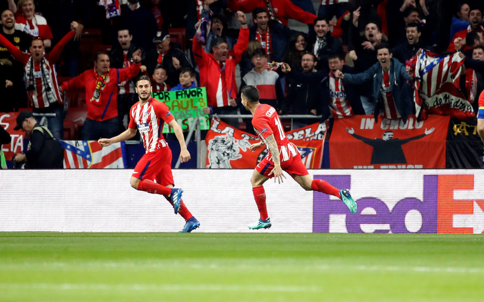 Атлетико взе добър аванс преди реванша срещу Спортинг