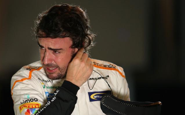 Пилотът на Макларън във Формула 1 Фернандо Алонсо демонстрира ясно,