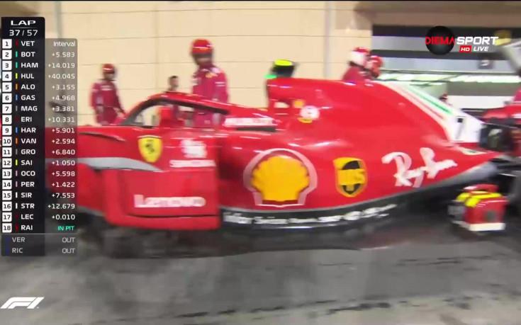 Механикът на Ферари със счупен крак, стюардите разследват Скудерията
