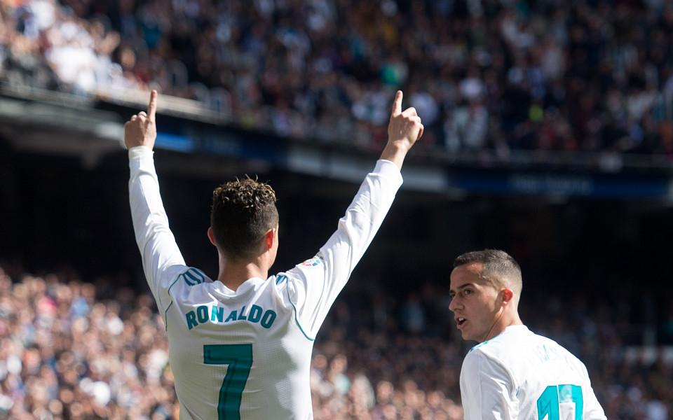 Кристиано вкара гол №500 в дербито на Мадрид в Ла Лига