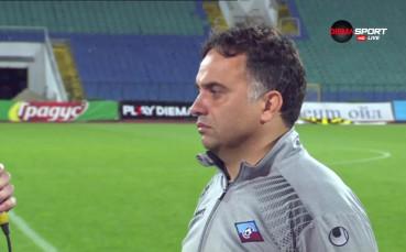 Николай Митов: Седмото място? Мач за мач и каквото дойде
