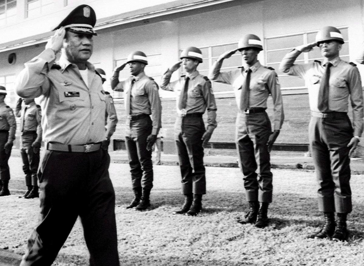 Мануел Нориега: диктатор на Панама межди 1983 и 1989 година.
