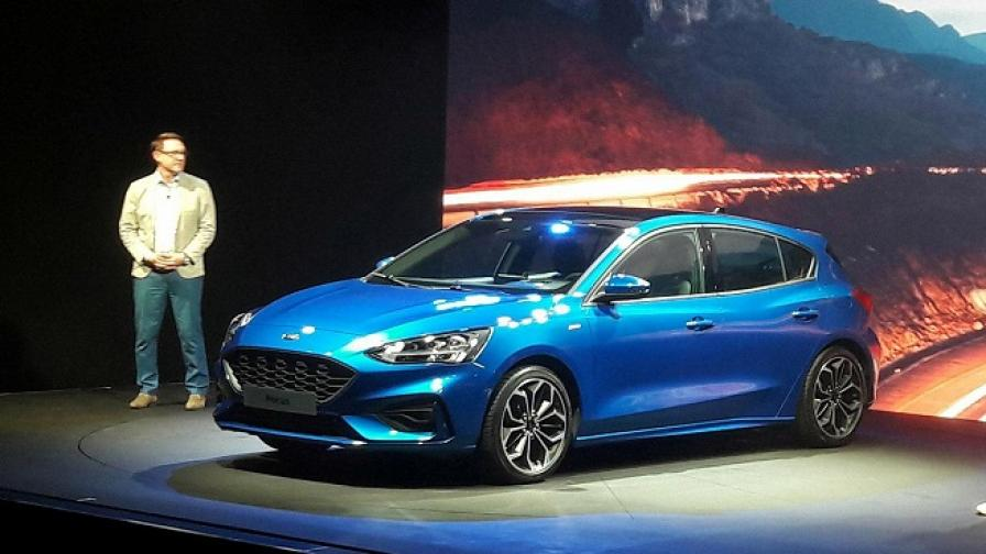 Новият Ford Focus показа четири различни лица. Красива са