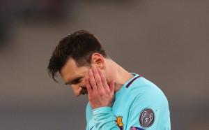 Барселона е пълна трагедия в Шампионска лига без головете на Меси