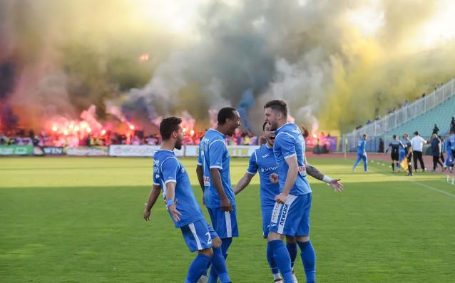 Левски постигна изключително стилна победа срещу ЦСКА в първия полуфинален