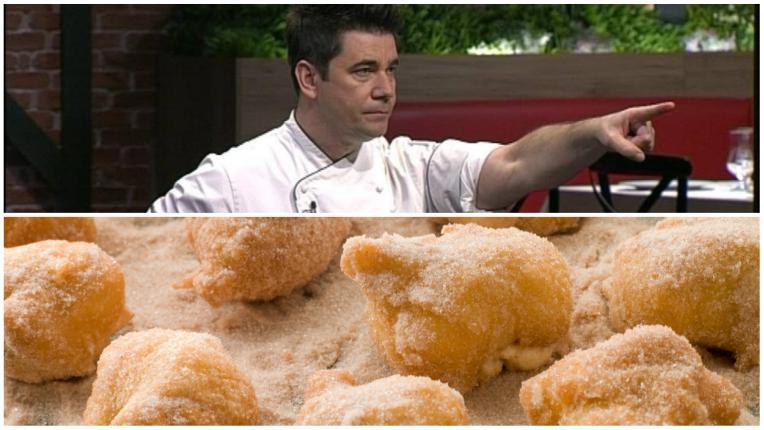 Рецептите от Hell's Kitchen България: Бухтички с маскарпоне и малини