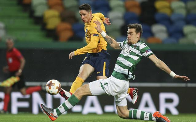 Отборът на Спортинг Лисабон напусна достойно Лига Европа на четвъртфиналите.