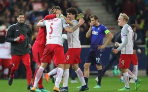 Залцбург с рекорд в Лига Европа