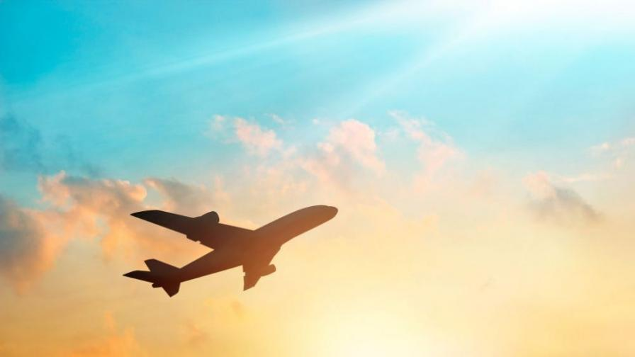 Инцидент около Световното: запали се самолетът на Саудитска Арабия