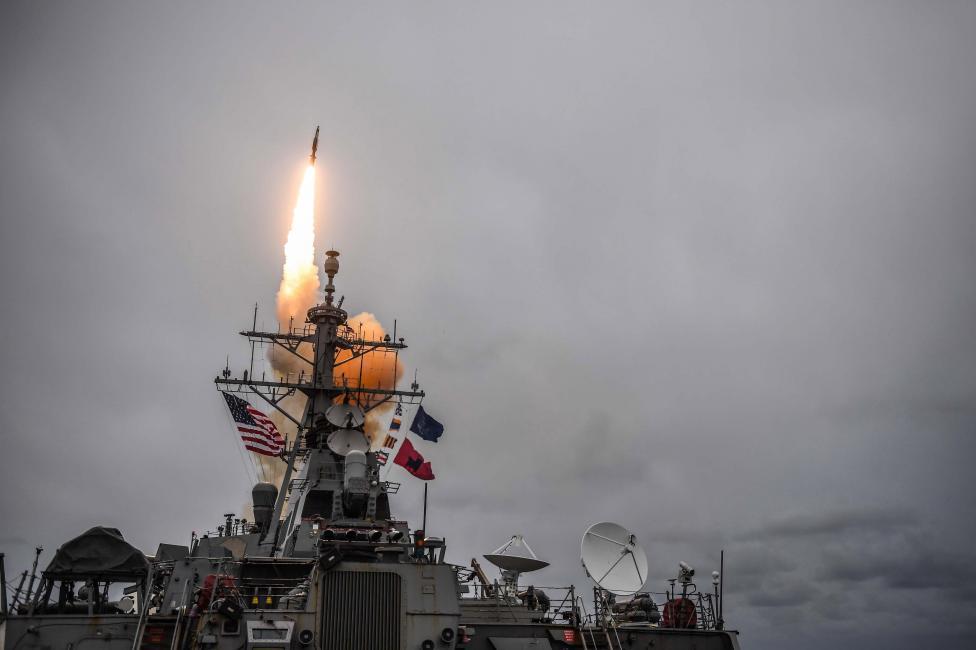 - САЩ, съвместно с Великобритания и Франция, осъществиха военна операция срещу Сирия в отговор на извършената, според тях от сирийския режим, химическа...