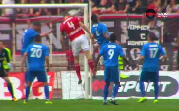 Втори гол за капитана на ЦСКА срещу Верея