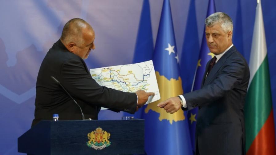 Борисов в Косово: Да убедим Европа, че не е страшно тук