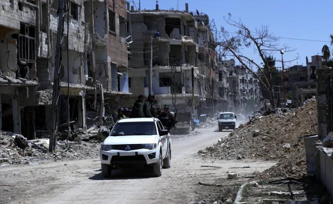 Сирия може да бъде разделена на зони подобно на Германия след 1945