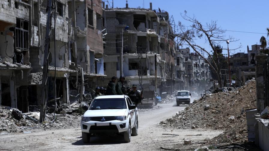 Град Дума в Сирия