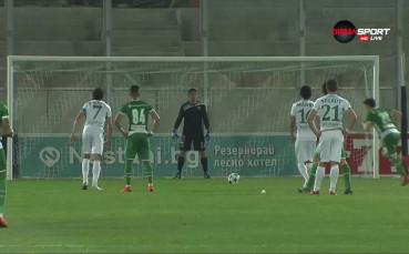 Дузпа и 2:0 за Лудогорец срещу Берое