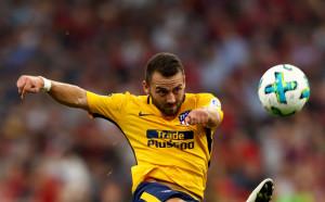 Играч на Атлетико М отнесе 9 мача наказание за псувни по съдиите