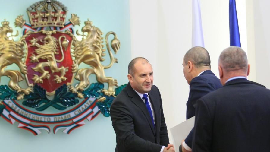 Скандал между Цветанов и президента Радев на КСНС