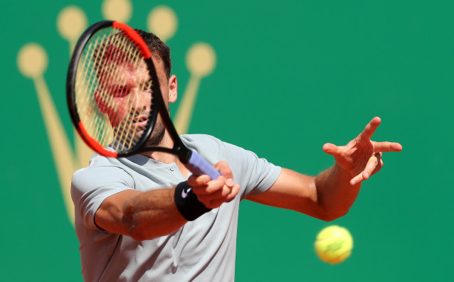 Най-добрият български тенисист Григор Димитров изрази задоволство от представянето си