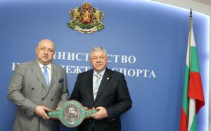 Кралев се срещна с член на УС на Световния боксов съвет (WBC)